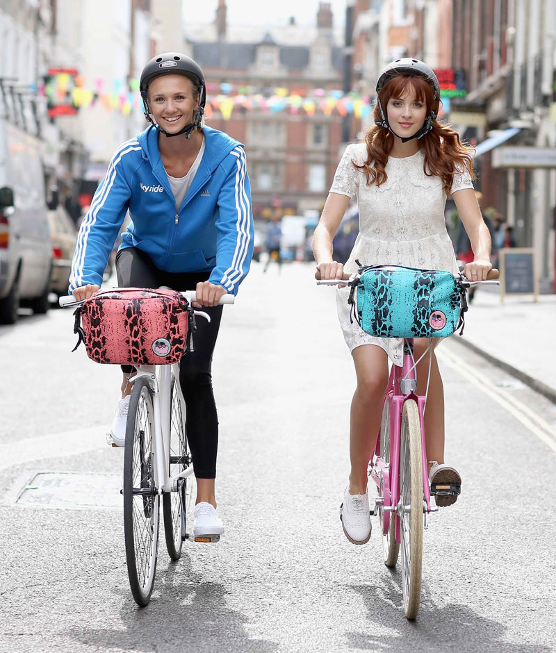 Giles Deacon teams up with Sky Ride to make cycling fashionable