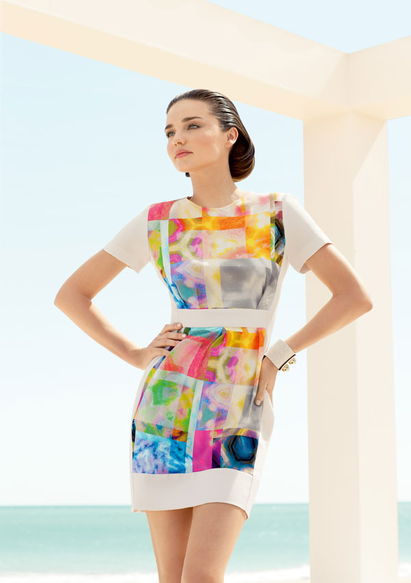 David Jones Spring/Summer 2012 ad campaign starring Miranda Kerr; unveils live show streaming