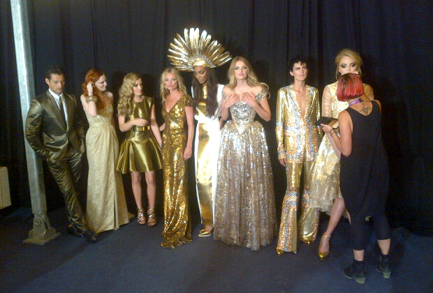 Kate Moss, Naomi Campbell & co show off British fashion at the London 2012 Olympic Games Closing Ceremony