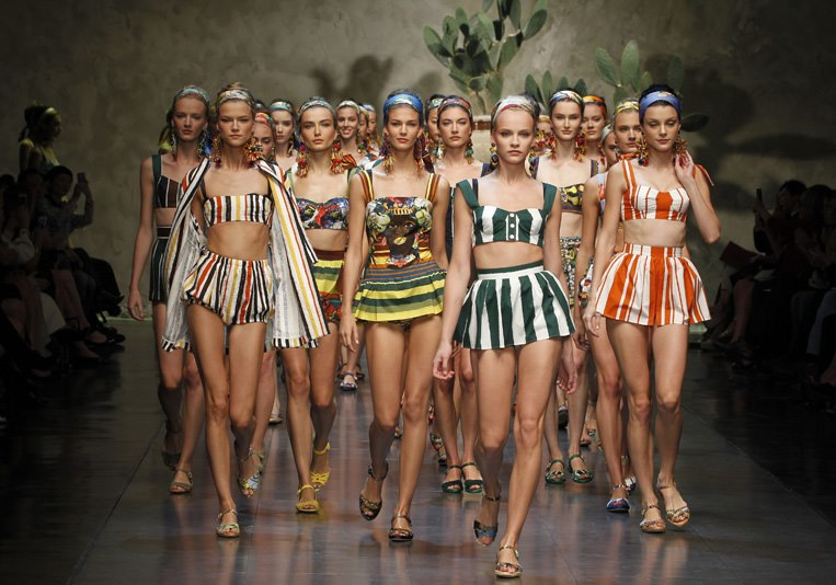 Milan Fashion Week S/S 2013: Sicilian summer with Dolce & Gabbana