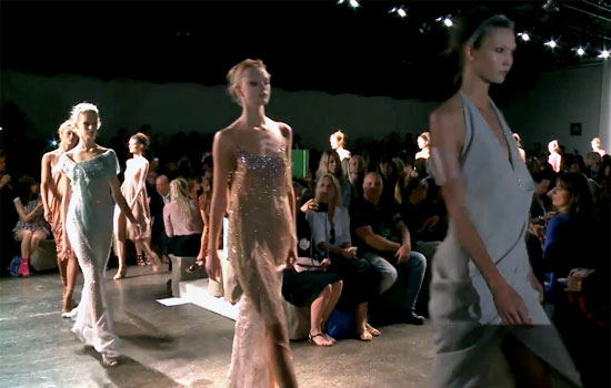 New York Fashion Week S/S 2013: Donna Karan captivates our imagination with her ladylike glam designs