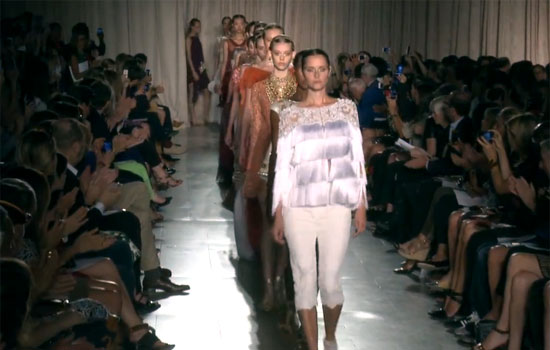 New York Fashion Week S/S 2013: Indian opulence at Marchesa