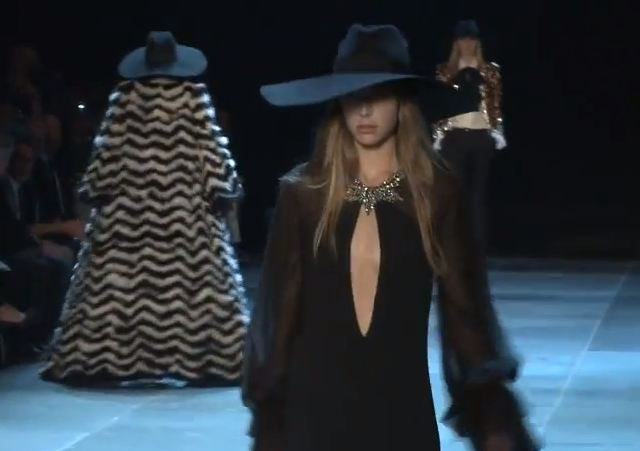 Paris Fashion Week S/S 2013: Hedi Silmane reveals the debut Saint Laurent Paris collection