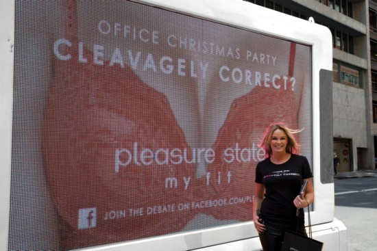 Pleasure State wants you to be Cleavagely Correct, Charlotte Dawson tells us her thoughts