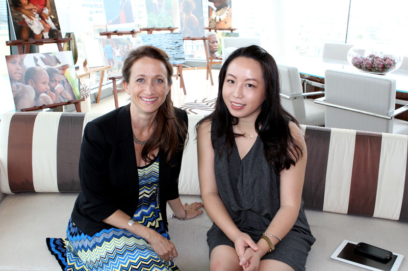Perfect partnership: Celine Cousteau & La Prairie's Advanced Marine Biology collection