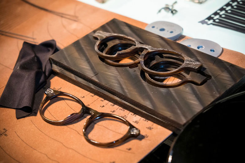 Giorgio Armani and Luxottica celebrate craftsmanship during Milan Fashion Week