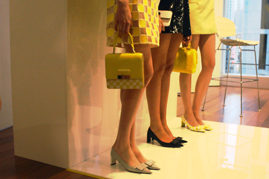In detail: Louis Vuitton Spring/Summer 2013 at their Sydney Maison