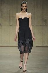 London Fashion Week A/W 2013: Richard Nicoll brings back luxe work wear