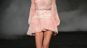 MBFWA: Aje brings us Summer 2013/14 in an enchanted cherry blossom garden