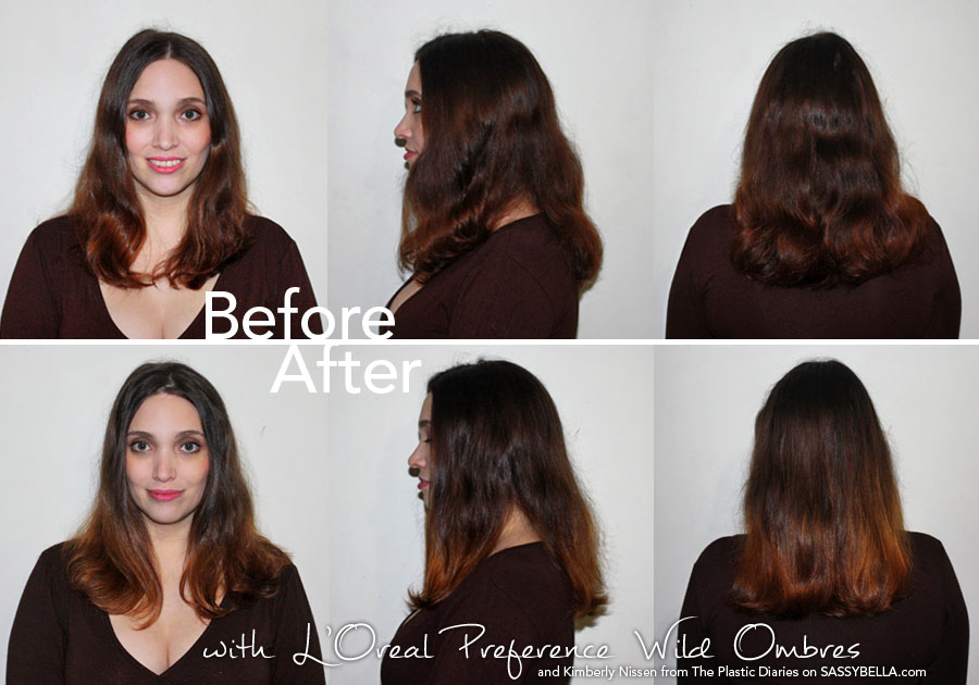 LorealPreferenceWildOmbres-BeforeAfter
