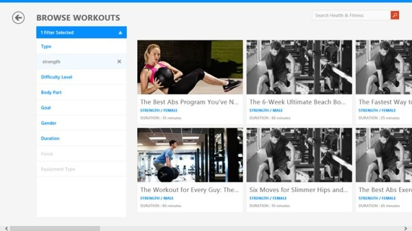 BingHealth&Fitness