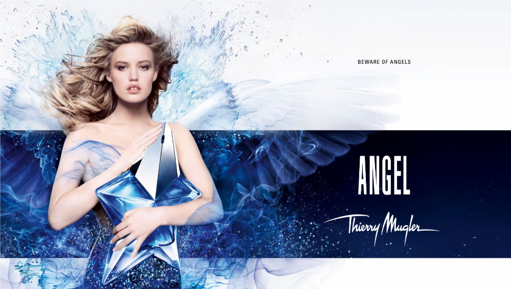 First Look: Georgia May Jagger the new face of Thierry Mugler Angel