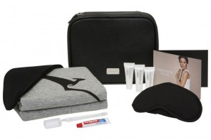 Qantas unveil new Oroton amenity kits