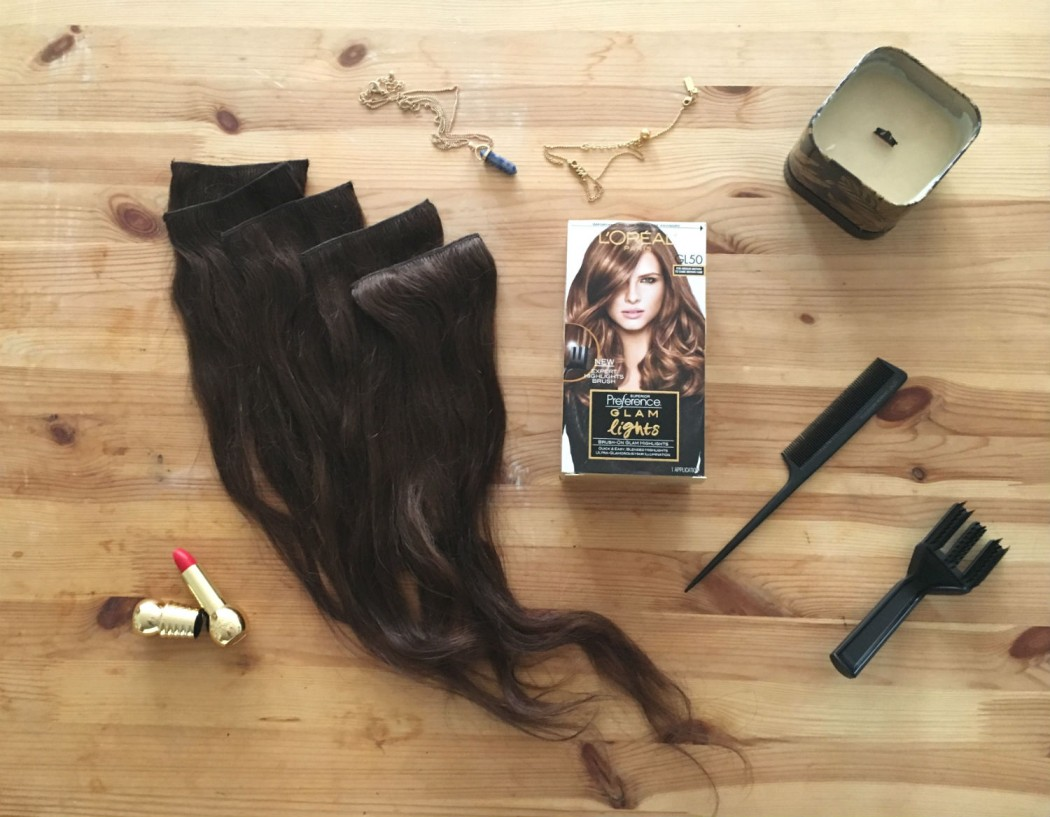 Extensions-Flatlay