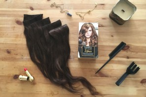 How to dye hair extensions to suit your hair colour