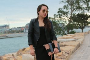 Black on black for Day 1 of MBFWA