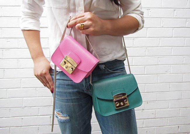 A mini bag: the Furla Metropolis Bag