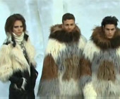 Paris Fashion Week F/W 2010: Faux fur and Swedish icebergs on the runway for Chanel