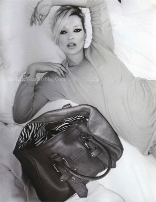 First look: Kate Moss for Longchamp bag collection