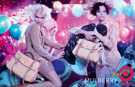 Mulberry to collaborate with Target for handbag collection