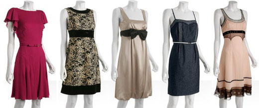 Shop for a party dress at Bluefly for 20% off!